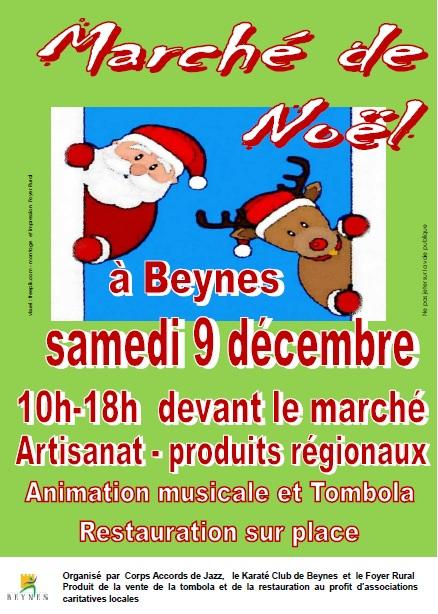 9 déc Marché de Noel 2017 Beynes